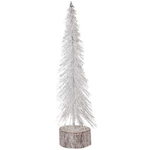 White Brush Cone Tree - WAS £14.99 NOW ONLY £7.50